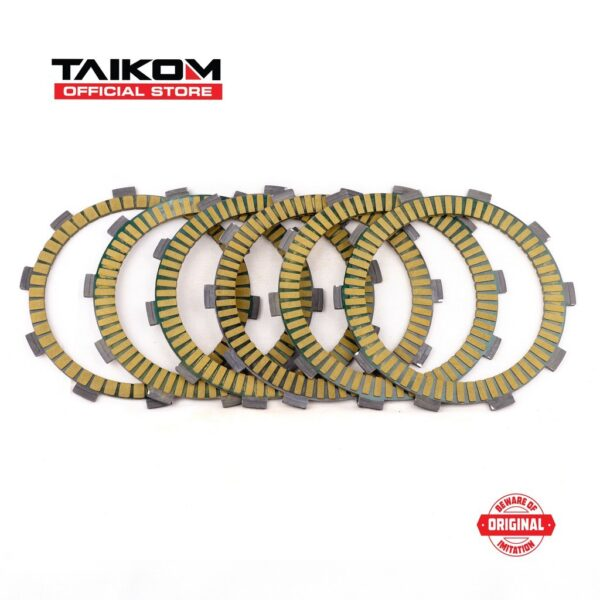 TAIKOM Kawasaki ZX150 (NEW) Racing Clutch Disk Clutch Plate Set (Taiwan)